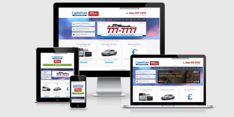 Capital Cars Edinburgh Announce Website Launch!
