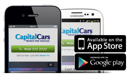 Our app for iPhone or Android